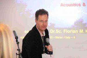 Pro-active held lecture due to Biofeedback body reactions on EMF & Acoustics 20th March 20013 in Meran/IT; www.aia-daga.eu